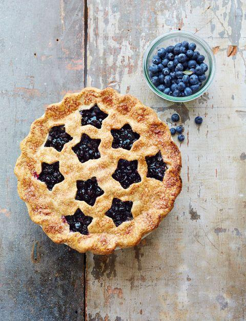 """<p>You might not know how to weave a pie lattice, but everyone can use a <a href=""""https://www.amazon.com/Wilton-Set-Nesting-Star-Cutters/dp/B0000CFODR?tag=syn-yahoo-20&ascsubtag=%5Bartid%7C10055.g.2069%5Bsrc%7Cyahoo-us"""" rel=""""nofollow noopener"""" target=""""_blank"""" data-ylk=""""slk:cookie cutter"""" class=""""link rapid-noclick-resp"""">cookie cutter</a>. Genius! </p><p><em><a href=""""https://www.goodhousekeeping.com/food-recipes/dessert/g1328/fruit-pies/?slide=2"""" rel=""""nofollow noopener"""" target=""""_blank"""" data-ylk=""""slk:Get the recipe for Cutaway Blueberry Pie »"""" class=""""link rapid-noclick-resp"""">Get the recipe for Cutaway Blueberry Pie »</a></em></p><p><strong>RELATED: </strong><a href=""""https://www.goodhousekeeping.com/food-recipes/dessert/a23899901/how-to-make-pie-crust/"""" rel=""""nofollow noopener"""" target=""""_blank"""" data-ylk=""""slk:How to Make the Perfect Flaky Pie Crust"""" class=""""link rapid-noclick-resp"""">How to Make the Perfect Flaky Pie Crust</a></p>"""