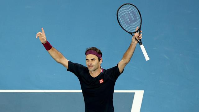 On a day defined by significant upsets, Roger Federer narrowly avoided succumbing to another in a five-setter with John Millman.