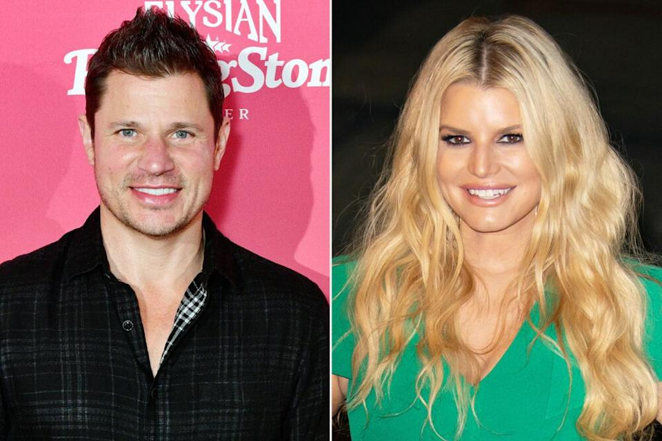 Nick Lachey and Jessica Simpson | Eugene Gologursky/Getty; Bauer-Griffin/GC Images