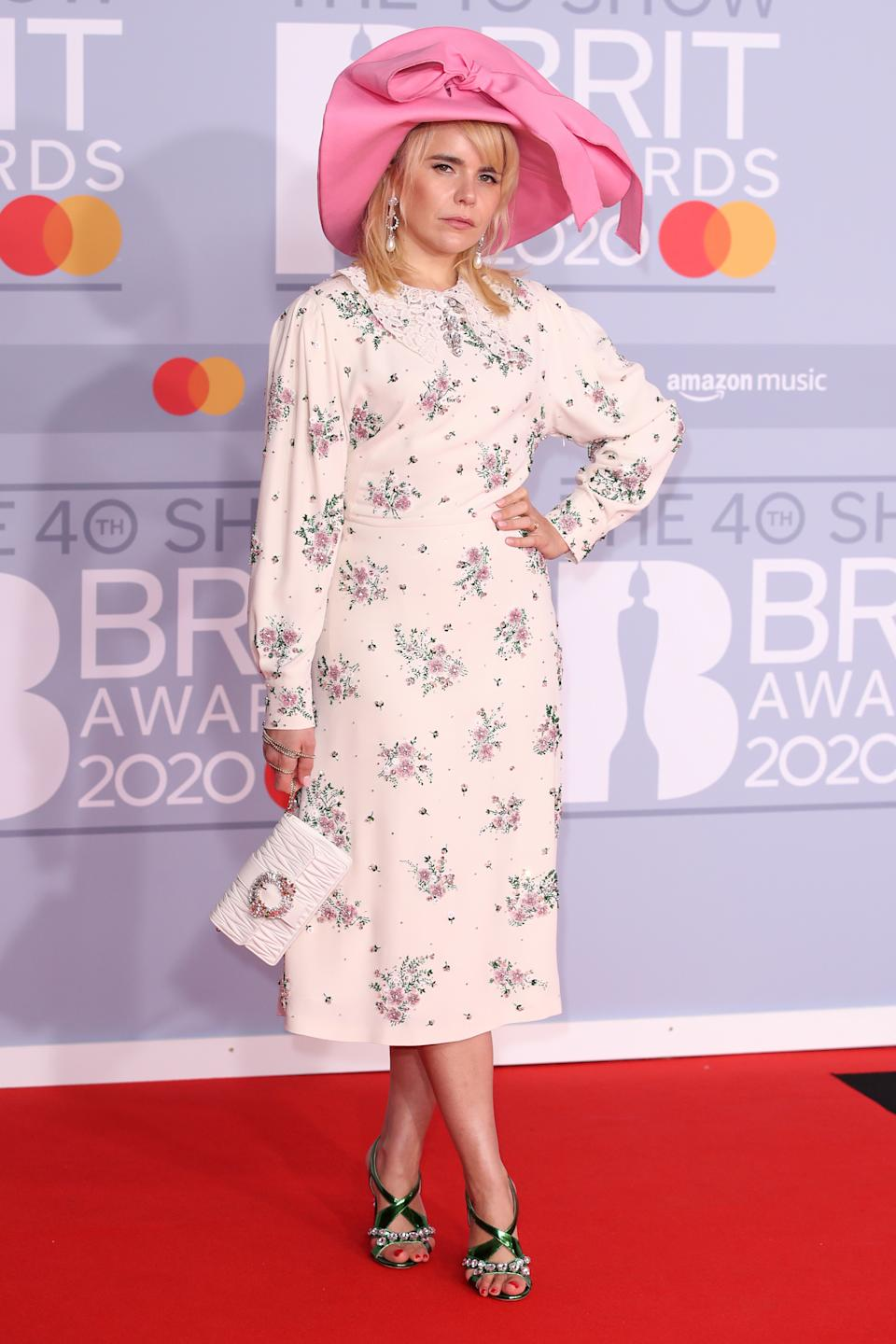 It might be freezing cold outside but Paloma Faith's summer wedding style is thawing us out. (Getty Images)