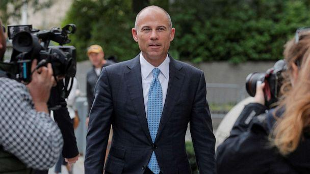 PHOTO: File photo: Attorney Michael Avenatti exits the United States Courthouse in the Manhattan borough of New York City, Oct. 8, 2019. (File-Brendan Mcdermid/Reuters)