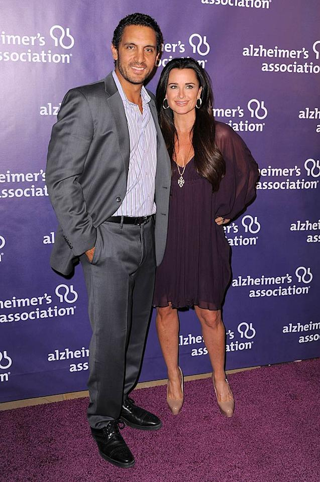 """Real Housewives of Beverly Hills"" starlet Kyle Richards and her realtor hubby Mauricio Umansky did double duty Wednesday night -- as well as attending the fundraiser, the couple also celebrated a birthday with family including Paris and Nicky Hilton at Frida's in Beverly Hills. Jordan Strauss/<a href=""http://www.wireimage.com"" target=""new"">WireImage.com</a> - March 16, 2011"