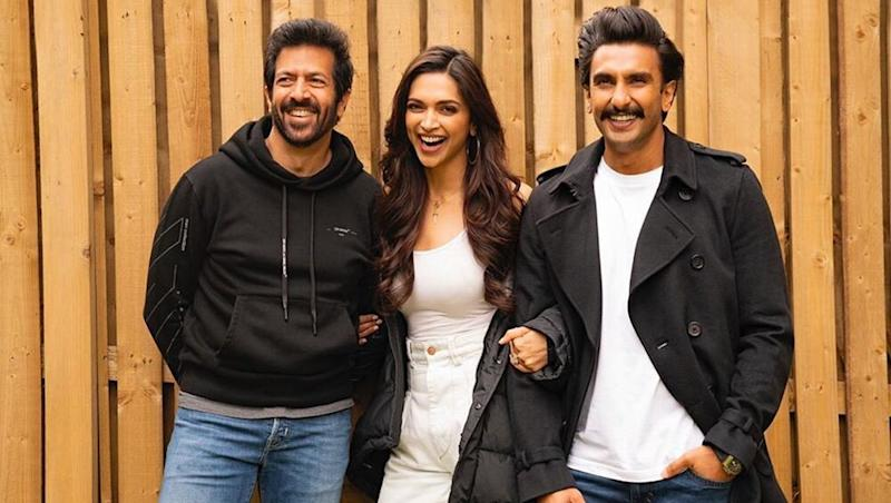 Deepika Padukone Joins Ranveer Singh in London as they Start Shooting for Kabir Khan's '83