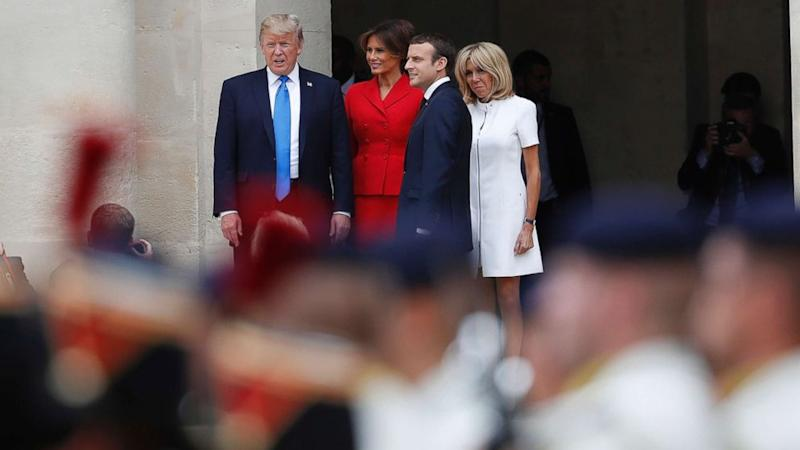 Good Morning Pretty Lady In French : Trump told french first lady you re in such good shape