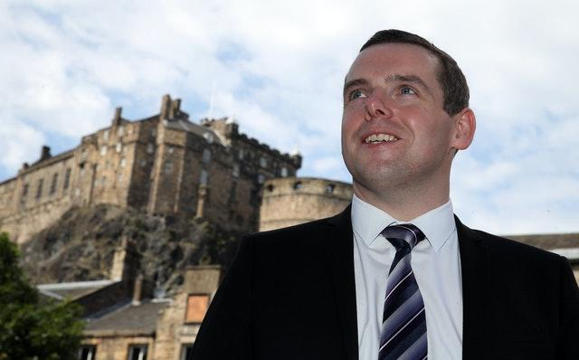 Scottish Conservative Party leader