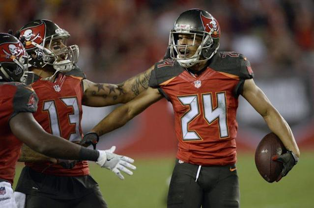 "<a class=""link rapid-noclick-resp"" href=""/nfl/players/8607/"" data-ylk=""slk:Brent Grimes"">Brent Grimes</a>' wife Miko said it was her plan to get Brent cut by the Dolphins through Twitter rants. (AP)"