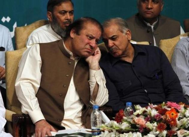 Ousted Pakistani PM Sharif lines up brother to take over