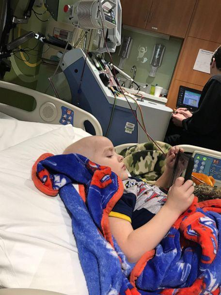 PHOTO: Xander Bowman was first diagnosed with cancer in January 2019. (Melissa Bowman)