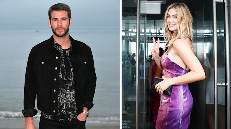 Liam Hemsworth has been spending time with pal Delta Goodrem following Miley Cyrus split