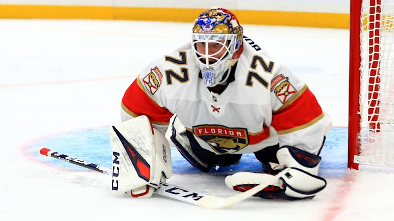 Florida Panthers' Sergei Bobrovsky pulled after first period in third start of season