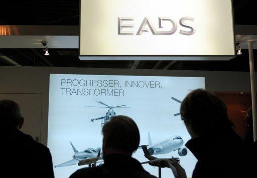 EADS sees moderate growth in 2013