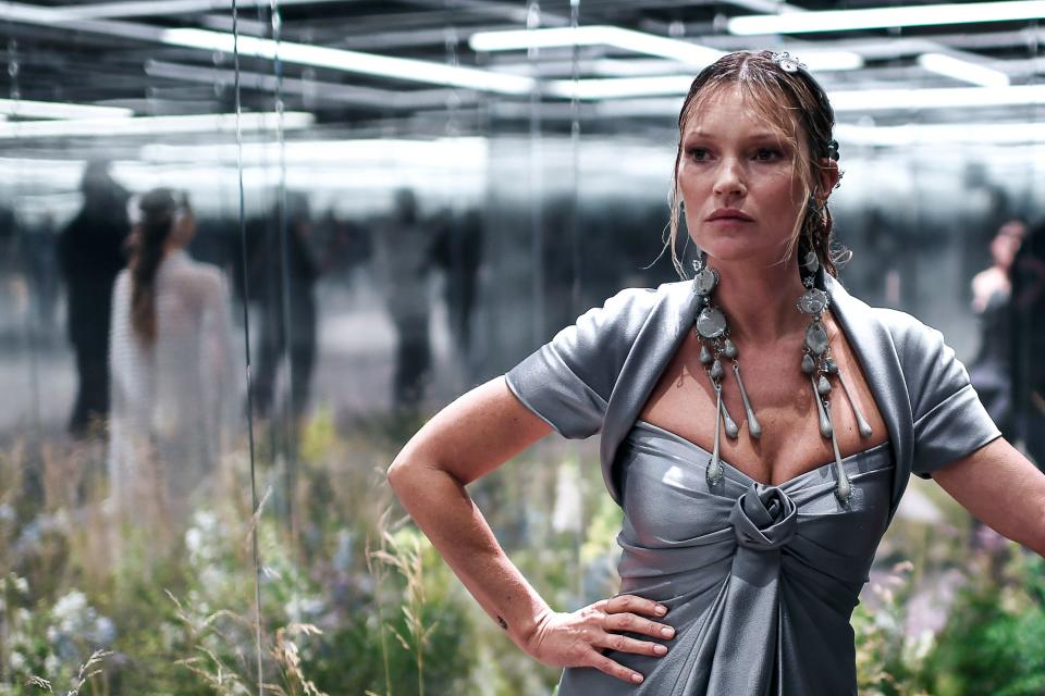 Supermodel Kate Moss is a well-known member of Soho House. Photo: Stephane De Sakutina/AFP via Getty Images