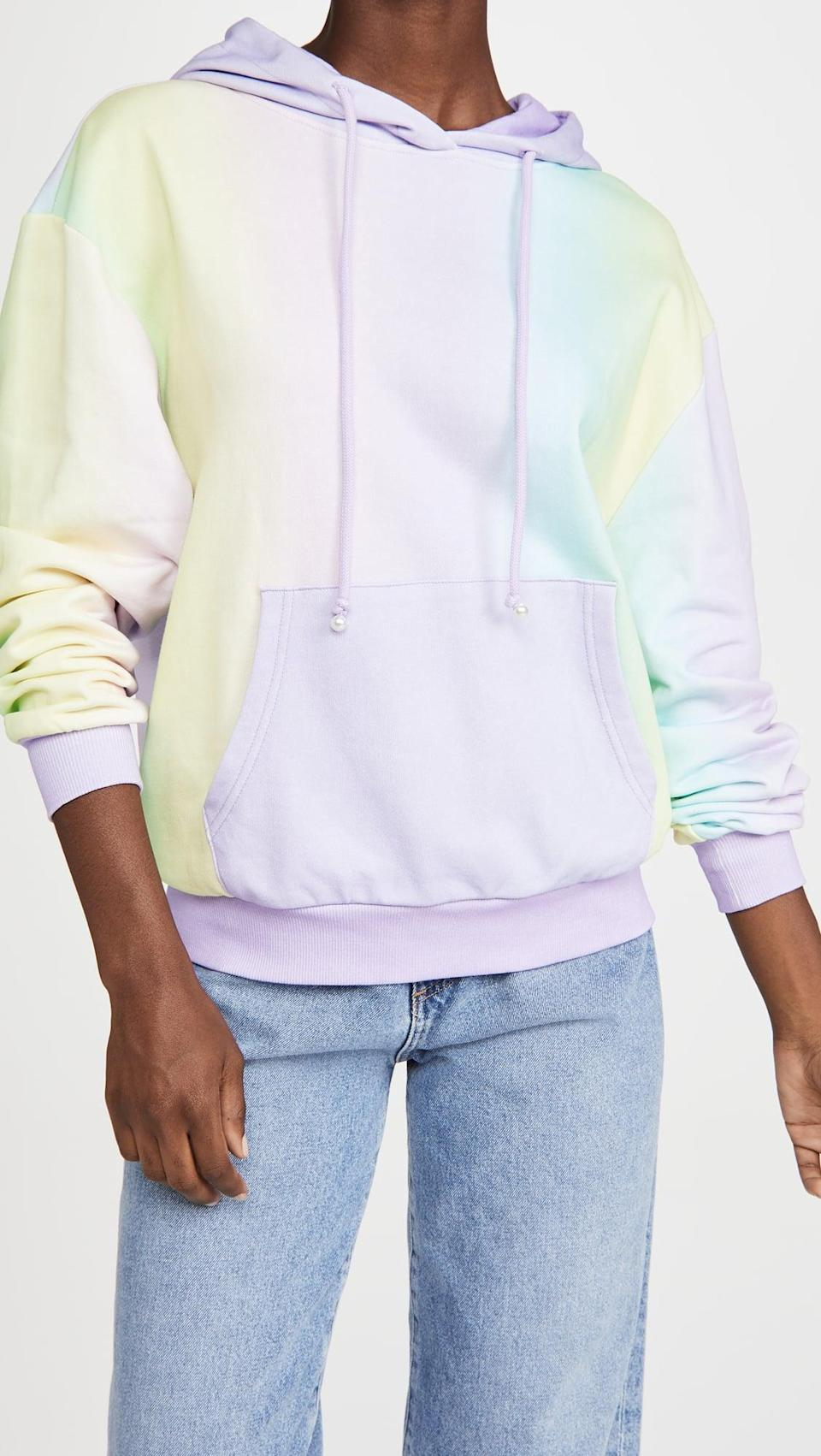 <p>If you love tie-dye, try this <span>Olivia Rubin Maya Hoodie</span> ($190, plus use code FALL20).</p>
