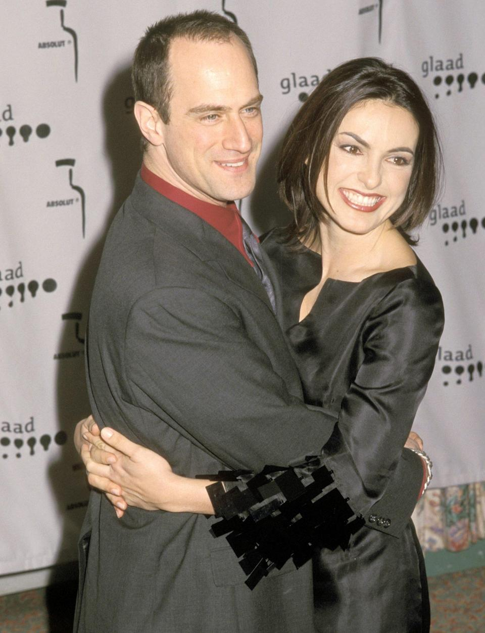"""<p>Hargitay described meeting Meloni, telling PEOPLE, """"I walked in, saw him, and I went, 'That guy. That's the guy.' It went deep, very fast. We both knew that it was something big."""" She added, """"I won't say that I fully understood it, but I knew that meeting him was important and life-changing."""" </p>"""