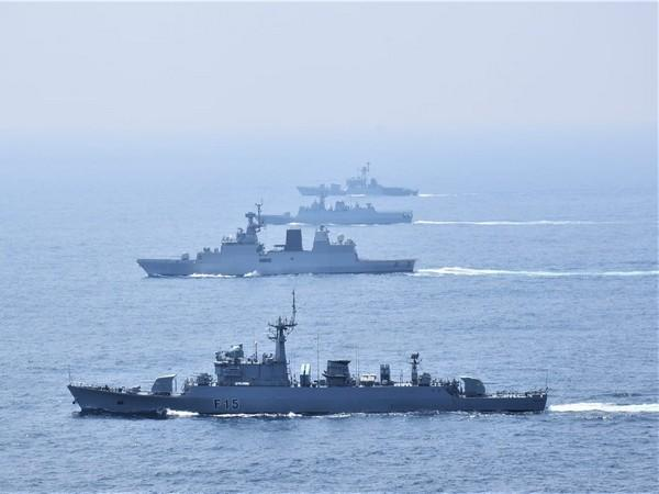 Indian and Bangladesh Navies conducted second edition of bilateral exercise in the Bay of Bengal. Photo/ANI