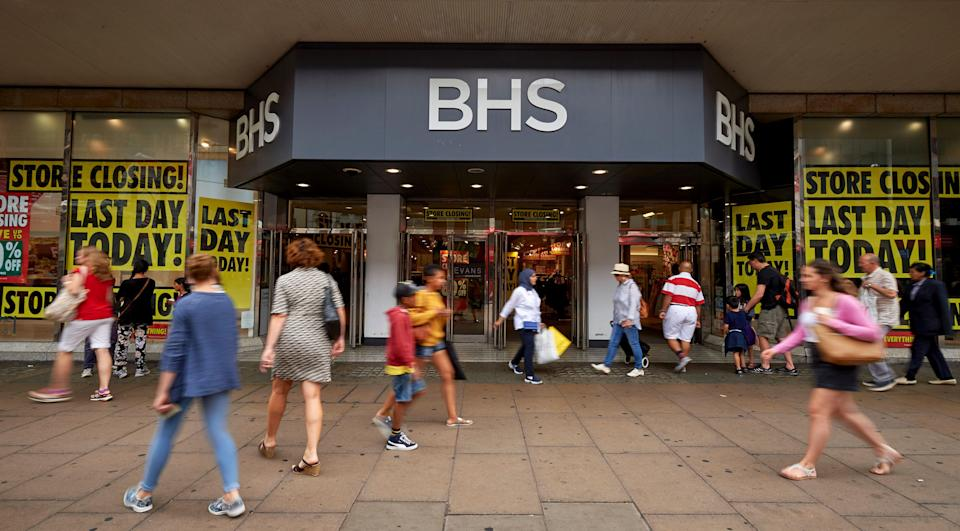 BHS closed its doors in 2016. [Photo: Getty]