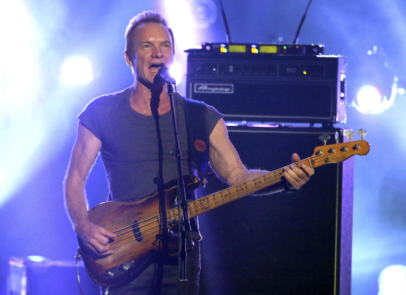 Sting to play summer home of Boston Symphony Orchestra