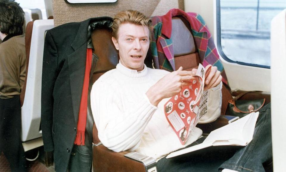 'Our brother worked with him on Labyrinth' … David Bowie reading Viz.