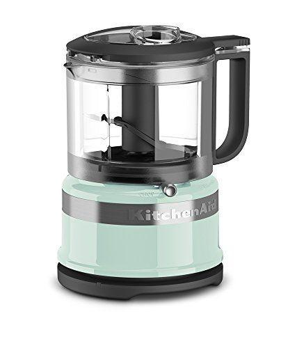 """<p><strong>KitchenAid</strong></p><p>amazon.com</p><p><strong>$44.99</strong></p><p><a href=""""https://www.amazon.com/dp/B01LZ6QN28?tag=syn-yahoo-20&ascsubtag=%5Bartid%7C10049.g.36880793%5Bsrc%7Cyahoo-us"""" rel=""""nofollow noopener"""" target=""""_blank"""" data-ylk=""""slk:Shop Now"""" class=""""link rapid-noclick-resp"""">Shop Now</a></p><p>Looking to blend something tiny like nuts or herbs? This tiny chopper is *perfect* for smaller ingredients and comes in sooo many cute colors—but the ice blue obvs has my heart.</p>"""