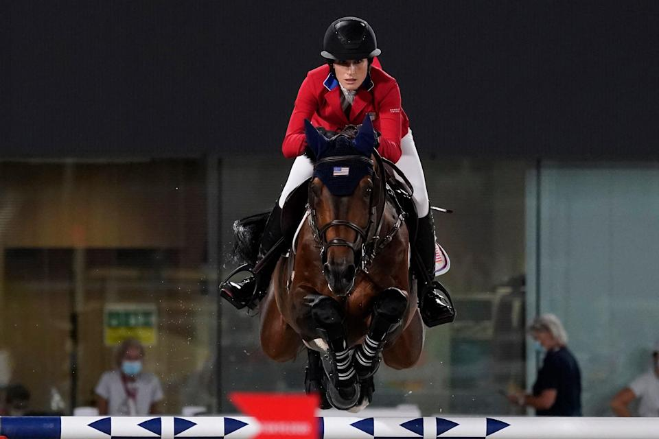 APTOPIX Tokyo Olympics Equestrian (Copyright 2021 The Associated Press. All rights reserved)