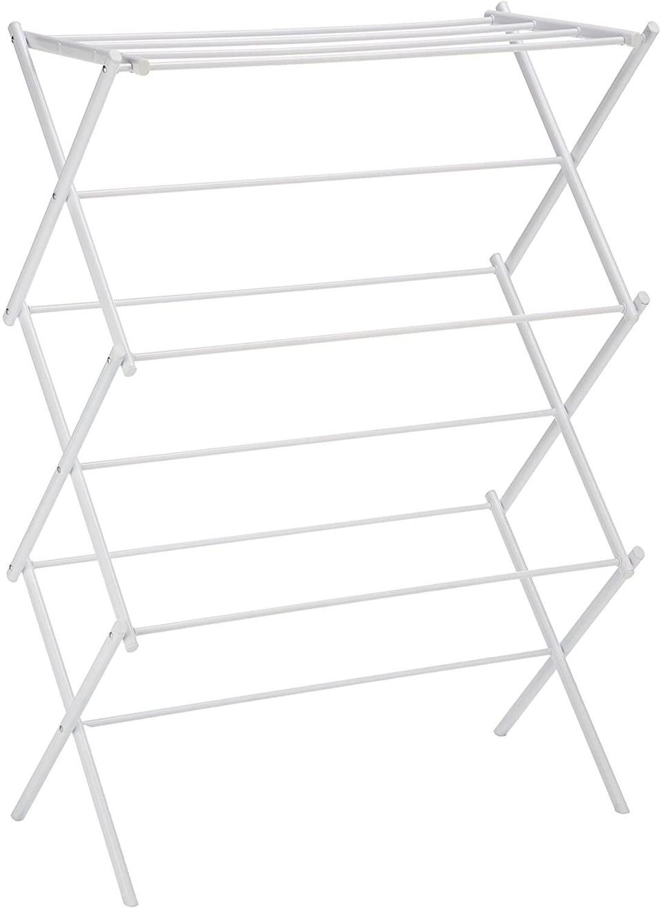 Foldable Clothes Drying Rack from Amazon