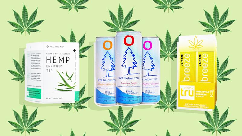 b2f31f9fa We Tried 4 CBD-Infused Beverages & Here's What Happened