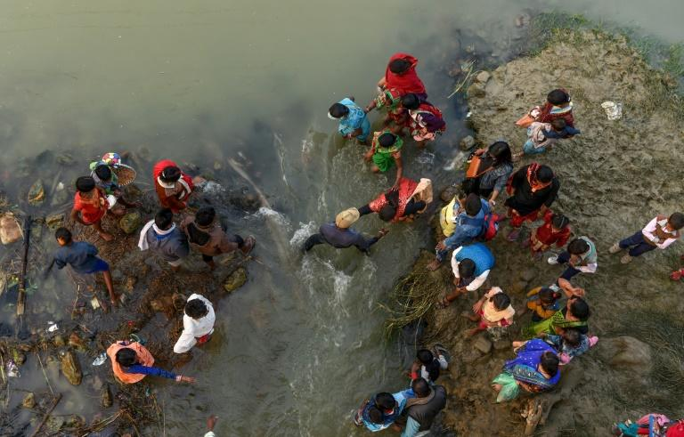 Hindu devotees gathered in southern Nepal ahead of a festival believed to be the world's biggest ritual animal sacrifice