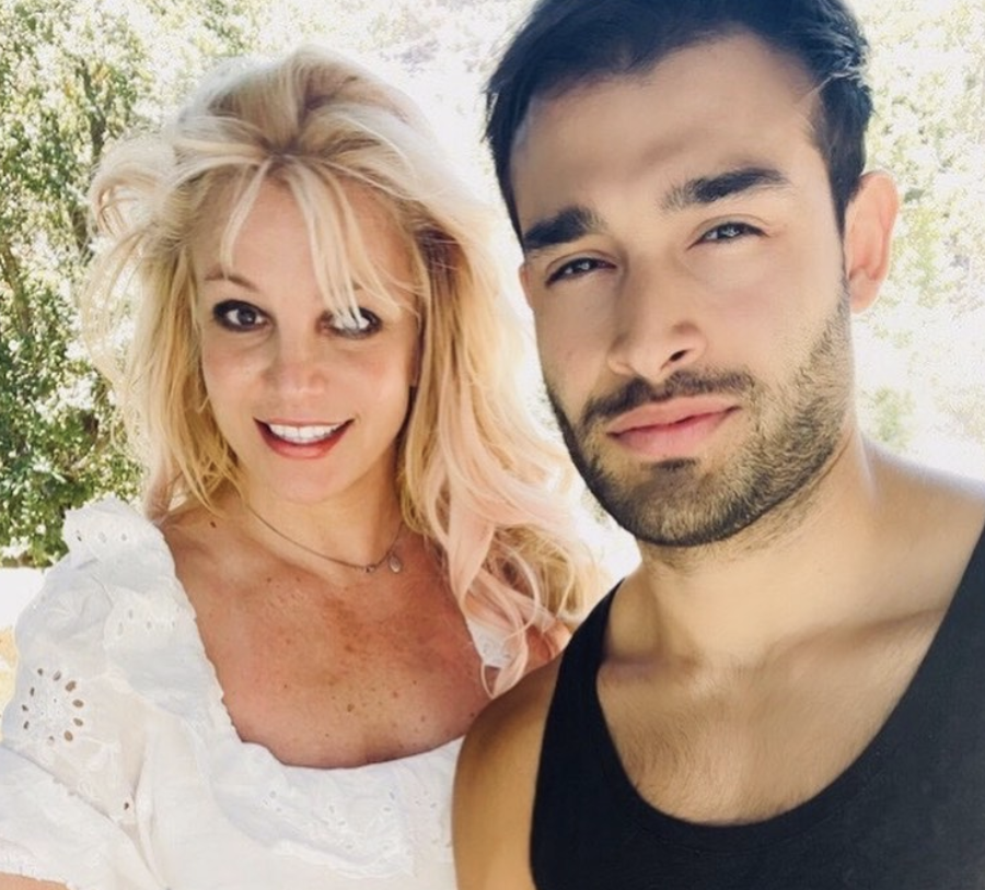 Britney Spears and Sam Asghari are engaged. (Instagram)