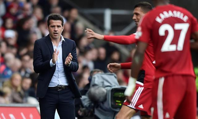 Marco Silva: the prize steak being tossed from one hungry pair of jaws to the next