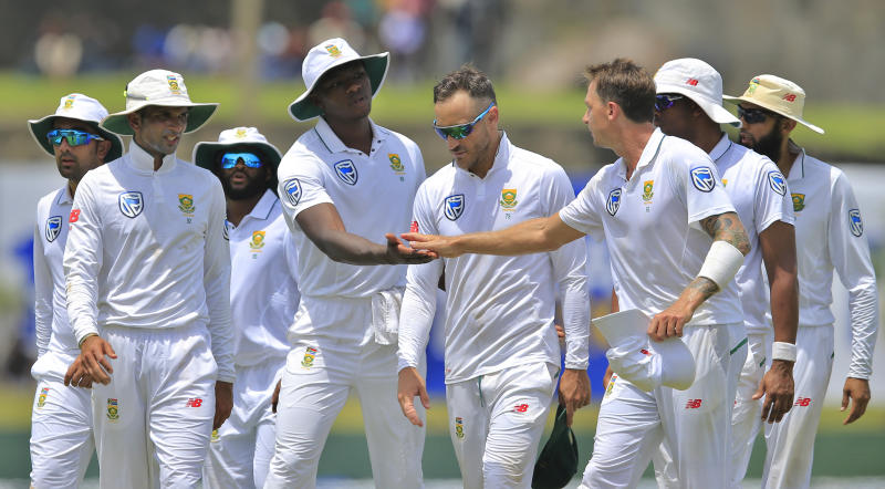 S.Africa face 352-run chase in Sri Lanka