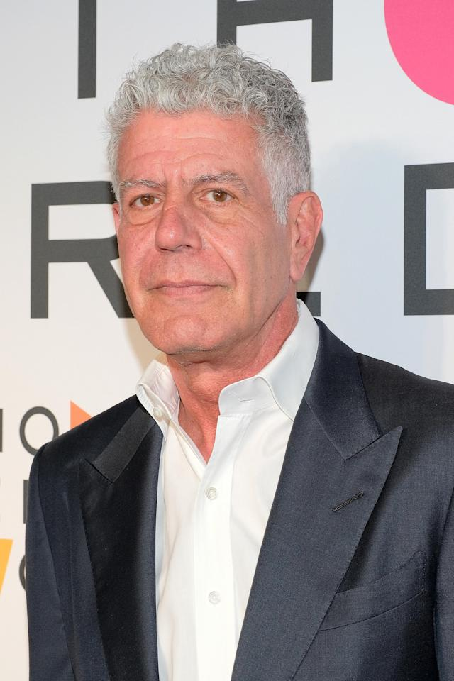 Anthony Bourdain, pictured in April, has died. (Photo: Matthew Eisman/Getty Images)