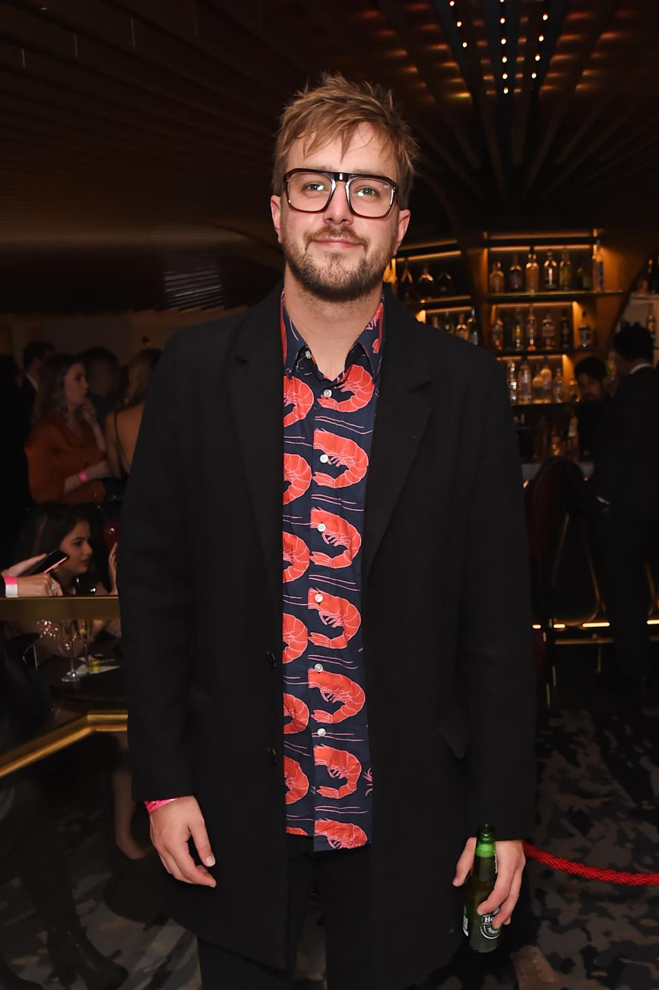 Iain Stirling attends the 20th anniversary celebration of tailor and fashion designer Gresham Blake at the Hard Rock Hotel London on November 28, 2019 in London, England.  (Photo by David M. Benett/Dave Benett/Getty Images for Hard Rock Hotel London)