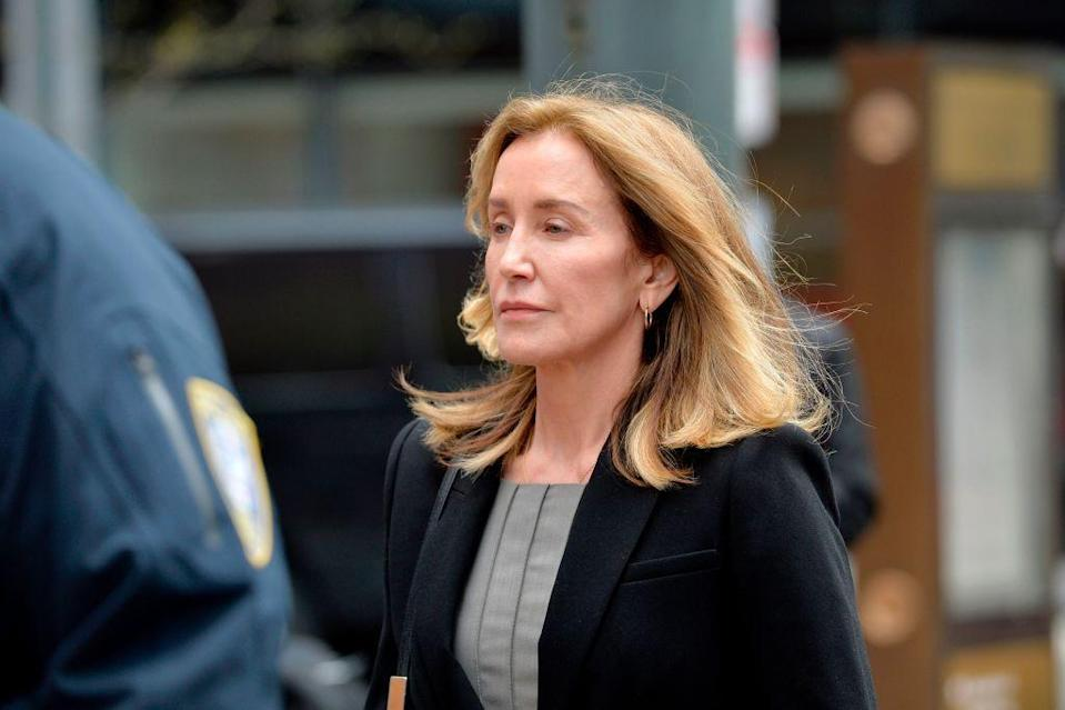 <p>The <em>Desperate Housewives Star</em> was the first parent sentenced in the entire scandal. She paid $15,000 to get her daughter Sophia's SAT answers changed, and then disguised the payment as a donation to charity. She got a 14-day prison sentence, a $30,000 fine, 250 hours of community service, and one year of supervised release. </p>