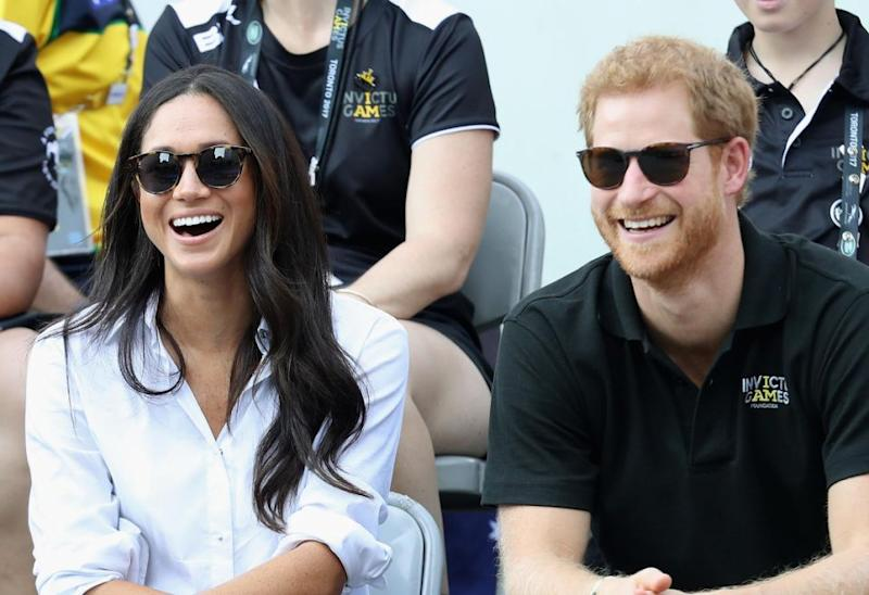 All eyes are on Meghan thanks to her romance with Prince Harry. Photo: Getty