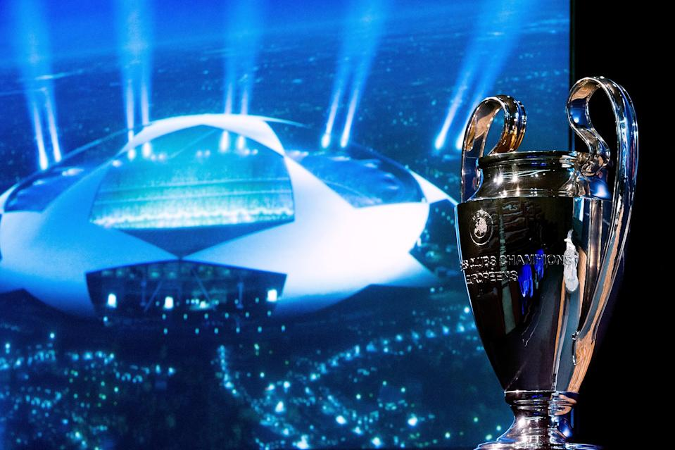 The Champions League Group Stage Draw is Thursday. (Getty Images)