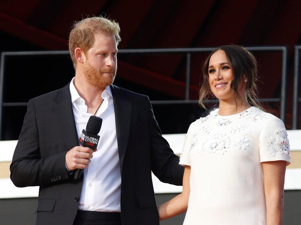 The couple attended Global Citizen Live, a charity concert against extreme poverty  (Getty Images,)