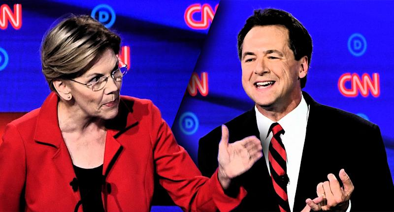 Elizabeth Warren and Steve Bullock