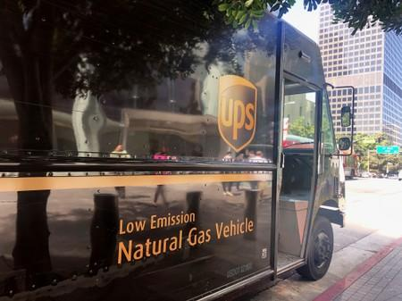 UPS hits the gas on greener delivery truck fleet