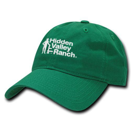 "Buy the <a href=""https://www.flavourgallery.com/collections/hidden-valley-ranch/products/hidden-valley-ranch-vintage-logo-dad-cap"" target=""_blank"">Hidden Valley vintage logo cap</a> for $25"