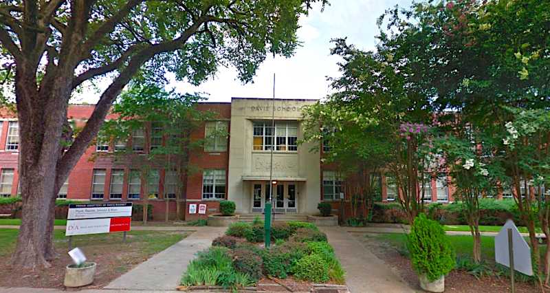 Davis Magnet International Baccalaureate Elementary in Jackson, Mississippi, will be named for former President Barack Obama next year. (Google Maps)