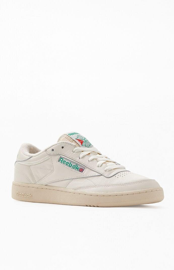 <p>One of our faves has to be these <span>Reebok Off White Club C 85 Vintage Sneakers</span> ($75).</p>