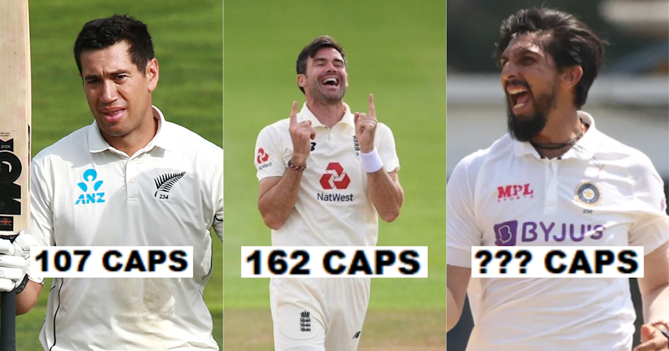 List Of Country Wise Active Cricketers With The Most Test Caps