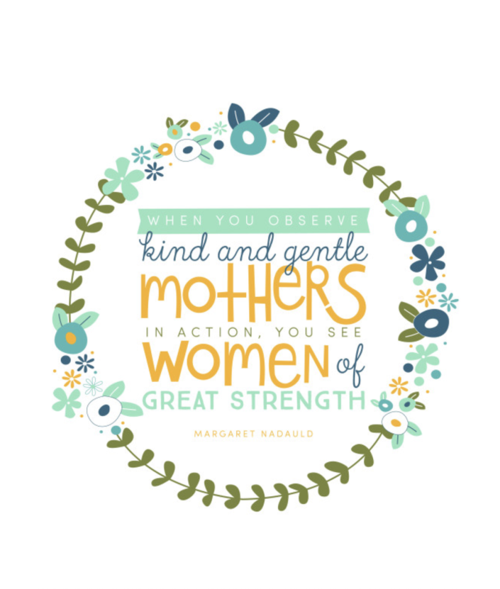 """<p>This card features a quote from writer Margaret Nadauld, and it couldn't be more true. Strength comes in many forms.</p><p><em><strong>Get the printable at <a href=""""https://tatertotsandjello.com/free-mothers-day-woman-strength-printable"""" rel=""""nofollow noopener"""" target=""""_blank"""" data-ylk=""""slk:Tatertots & Jello"""" class=""""link rapid-noclick-resp"""">Tatertots & Jello</a>.</strong></em></p>"""