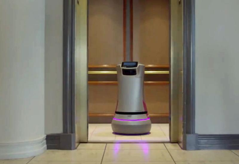 Robot workers are showing up in malls, hotels, and parking lots
