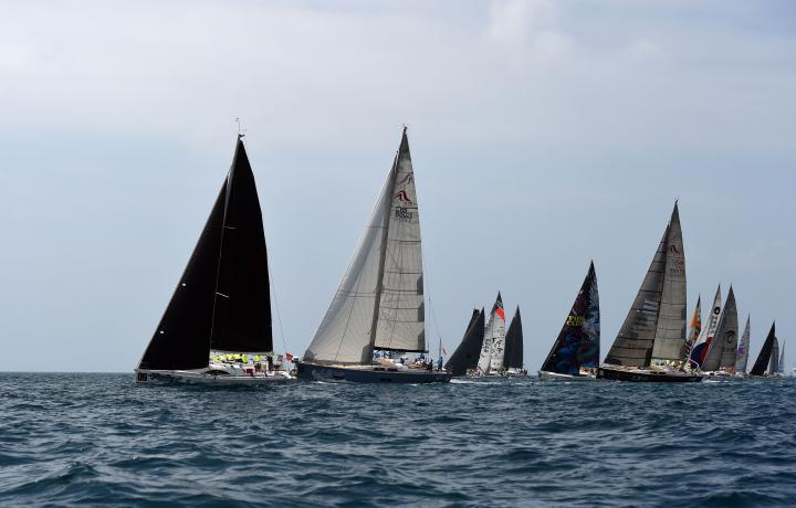 Vela, regata Sanya In-Port 2017