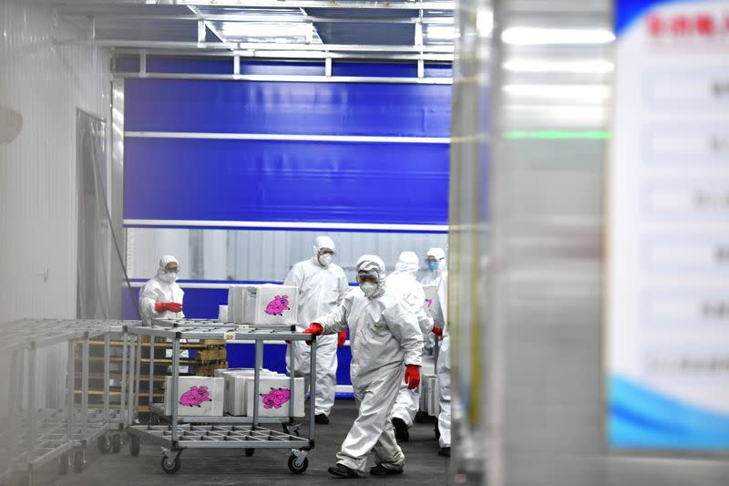 New warehouse to storage and disinfect imported cold-chain products in Changchun