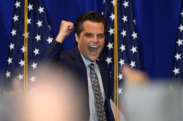 <p>Federal investigators are wrapping up the evidence-gathering phase of their investigation of Rep Matt Gaetz</p> (AP)