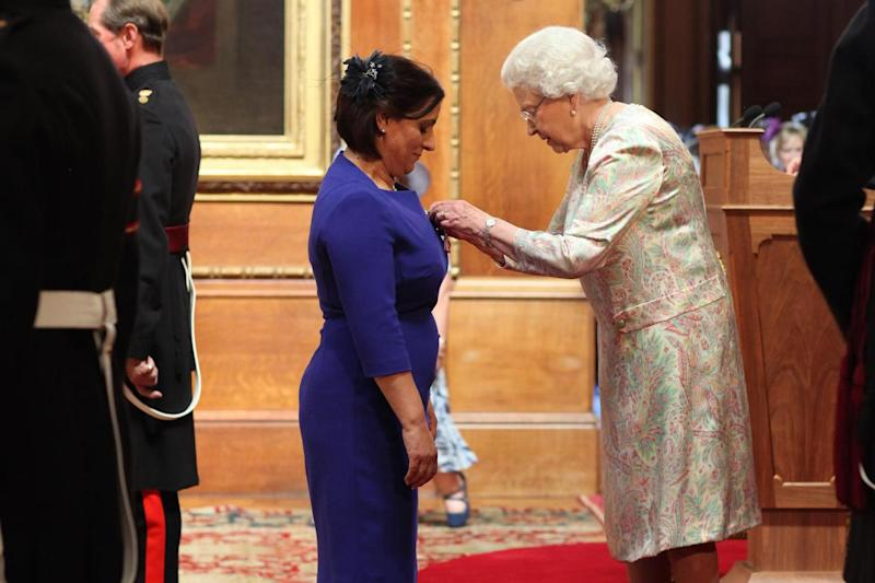 Detective Constable Nighat Hubbard was made an MBE by the Queen in 2014: PA Archive/PA Images