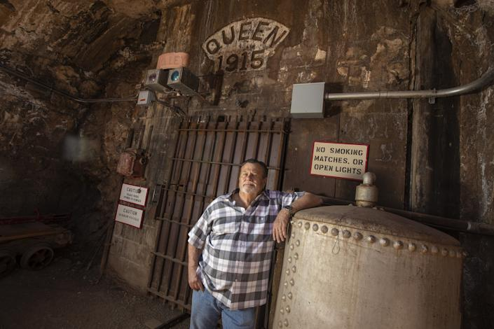 "Bisbee Mayor David Smith worries about the town's economy, but even more so about the coronavirus. <span class=""copyright"">(Brian van der Brug / Los Angeles Times)</span>"