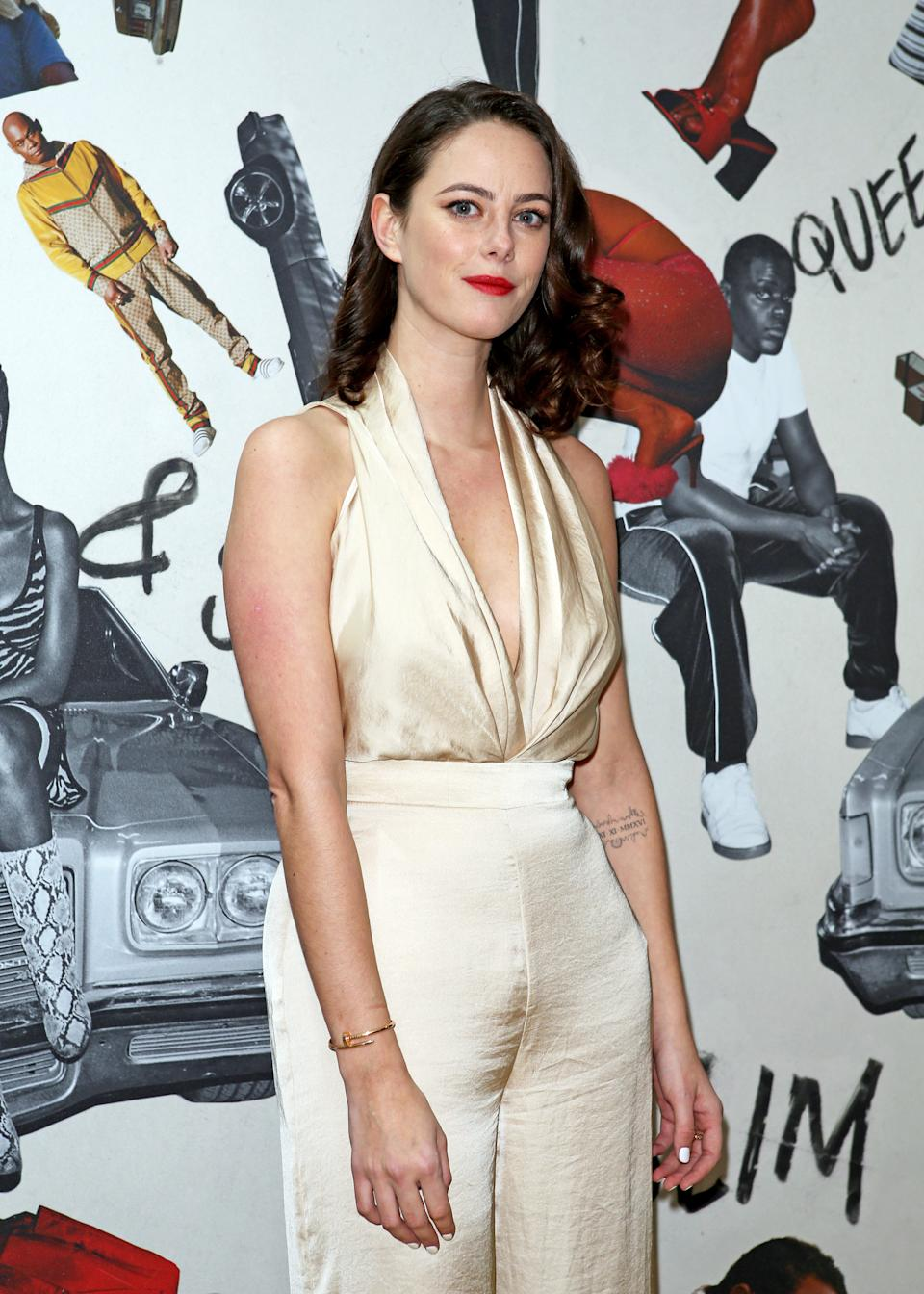 Kaya Scodelario attending the Queen & Slim premiere, at Rich Mix cinema, London.